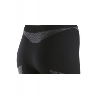 SPAIO® Damen Funktions-Leggins Thermo Line schwarz-grau XL