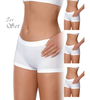 3er Set Lupoline Mikrofaser Pantie Seamless-Classic weiß...