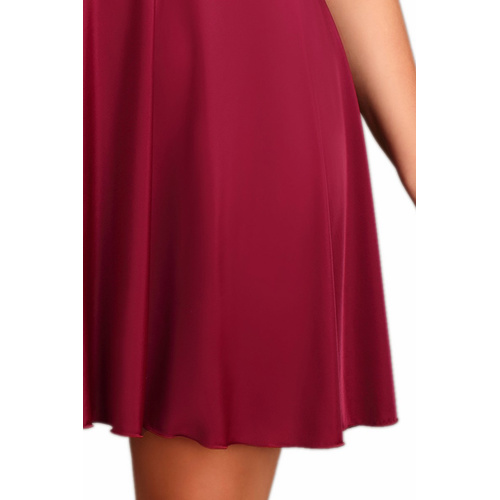 Edles Negligee Babydoll M1503 in bordeaux 38