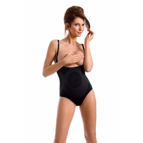 envie® Shapewear Body figurformend, verstellbare Träger schwarz L
