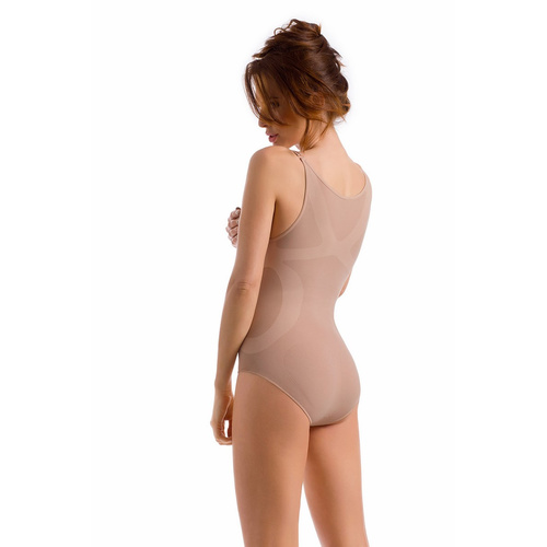 envie® Shapewear Body figurformend, verstellbare Träger ecru M