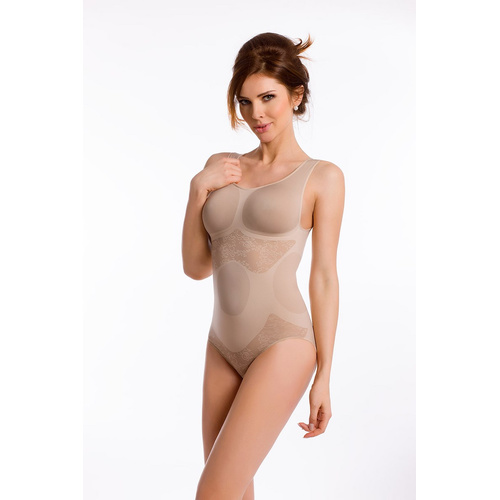 envie® Shapewear Body figurformend, Blumenmuster
