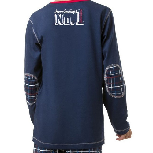 envie Jungen-Pyjama Pacific Team langarm in navy 98-104 CM
